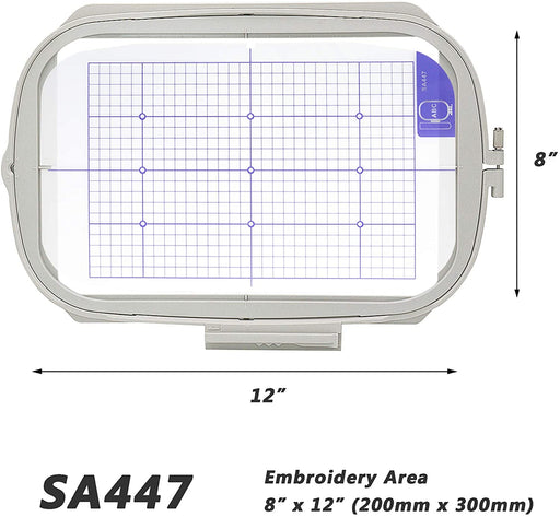 "SA447 (EF92):  8"" x 12"" Embroidery Machine Hoop"