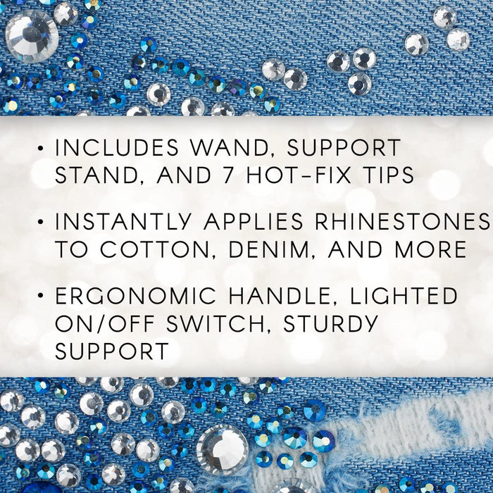 Hot-Fix Rhinestone Setter Heat Applicator Wand