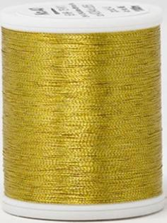 Madeira FS Metallic #40 Embroidery Thread - Spools 1,100 yds Gold 4 - Color 4004