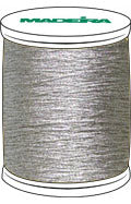 Madeira FS Metallic #40 Embroidery Thread - Spools 1,100 yds Silver - Color 4010
