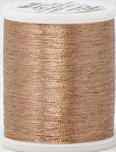 Madeira FS Metallic #40 Embroidery Thread - Spools 1,100 yds Copper 2 - Color 4027