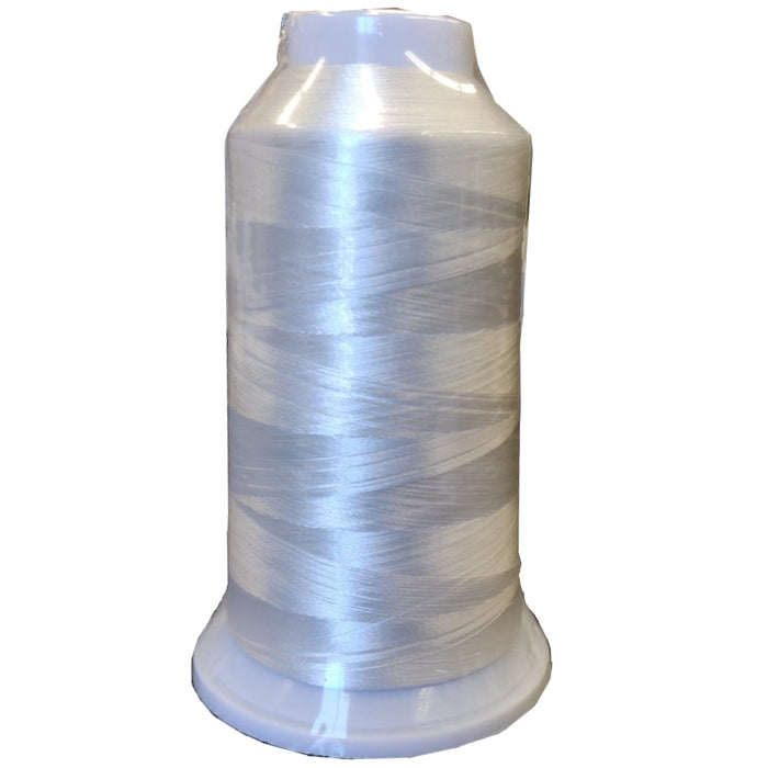 Embroidery Bobbin Thread Cone White
