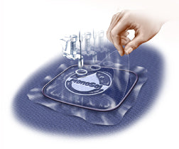 Badgemaster Water Soluble Embroidery Stabilizer Backing