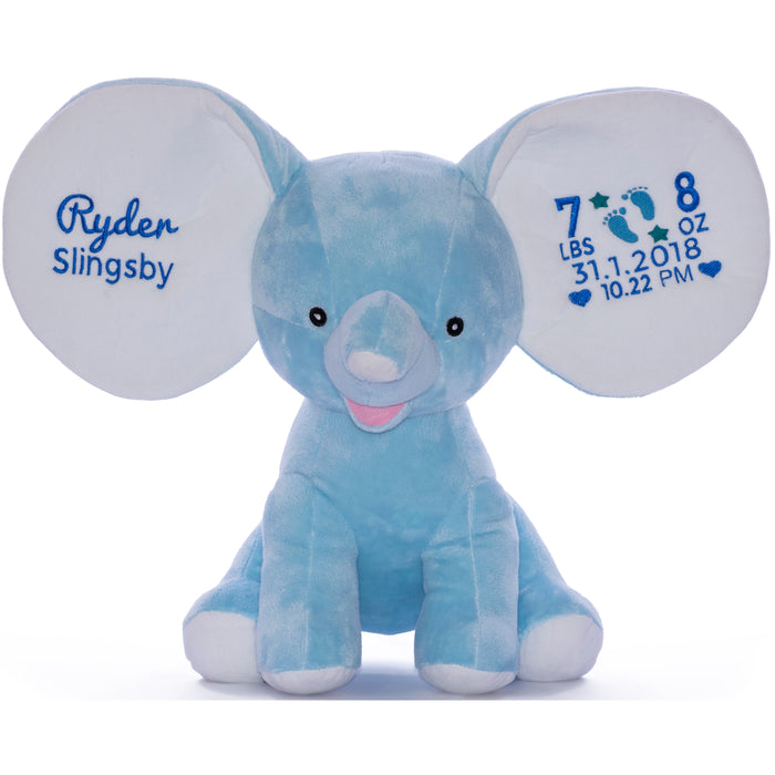 Cubbies Dumble Elephant Embroidery Blank