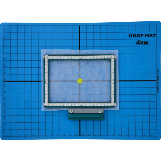 Dime Hoop Mat - 22 Inches x 16 Inches Silicone Mat