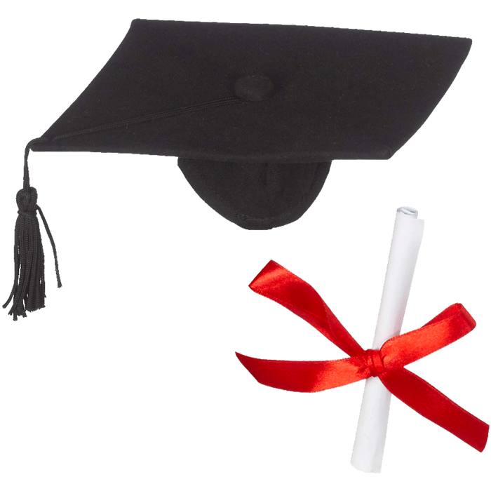EB Embroider Buddy Graduation Cap And Diploma