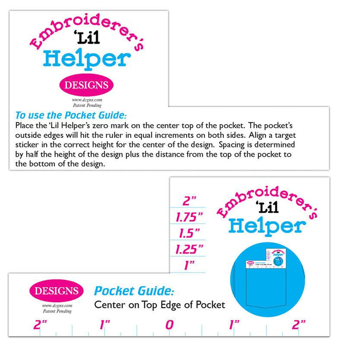 Embroider's 'Lil Helper: Above Pocket Embroidery Placement Tool