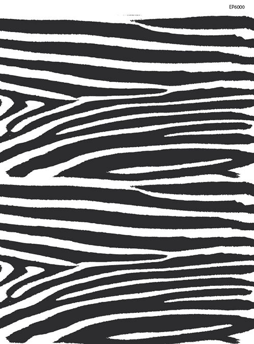 Quick Stitch Embroidery Paper: Zebra