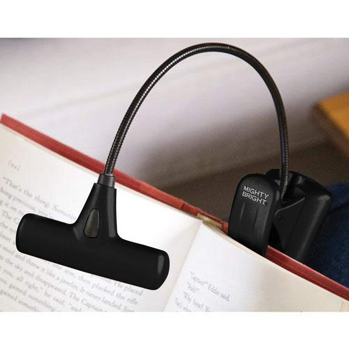 Mighty Bright HammerHead Clip On Book Light Reading Light, 6 Bright White LEDs