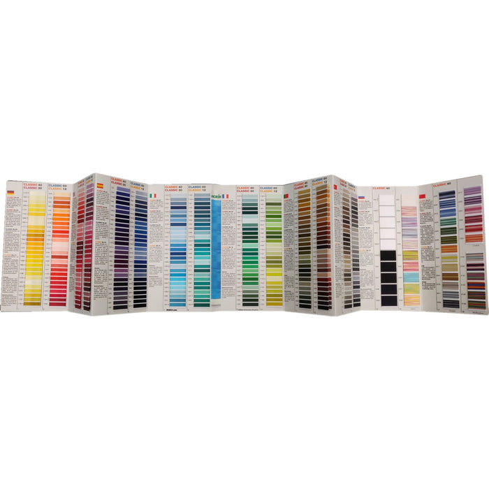 Madeira Classic Rayon Embroidery Thread Color Card #430