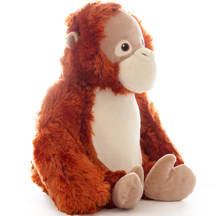 Cubbies Embroidery Animals Monkey Orangutan
