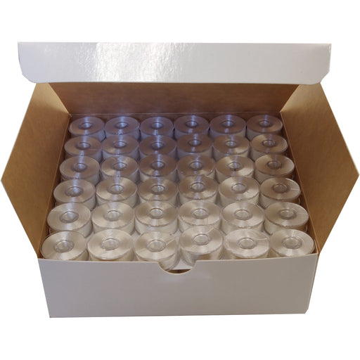SA-155 Style L Plastic Sided Embroidery Machine Bobbins