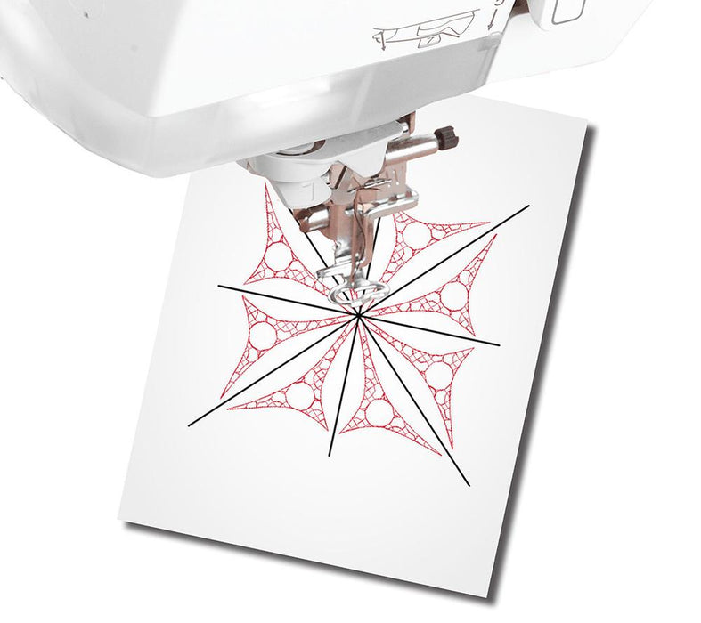 "DIME - Print And Stick Target Paper - 8.5"" x 11"" -  25 Sheets"