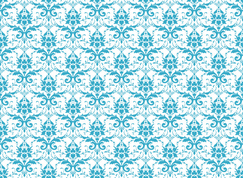 Quick Stitch Embroidery Paper: Damask