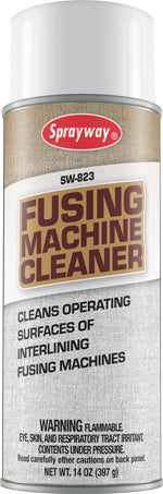 Sprayway 823 Iron/Fusing Machine Cleaner Spray - 14 oz.