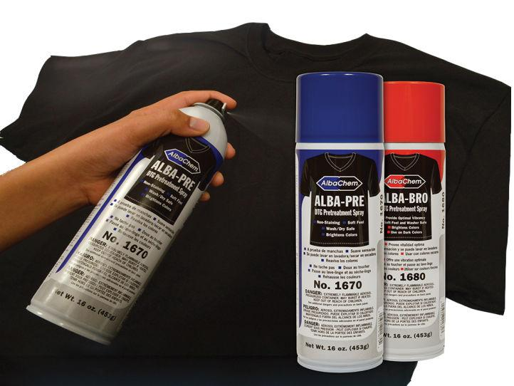 AlbaChem DTG Pretreatment Sprays