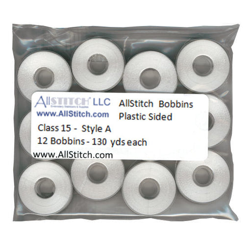 Class 15 Embroidery Bobbins For Home Machines
