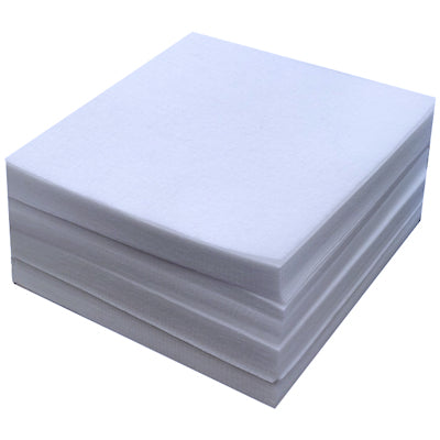 1000 x White Pre Cut Squares Heavyweight Embroidery Stabiliser Backing Cut Away