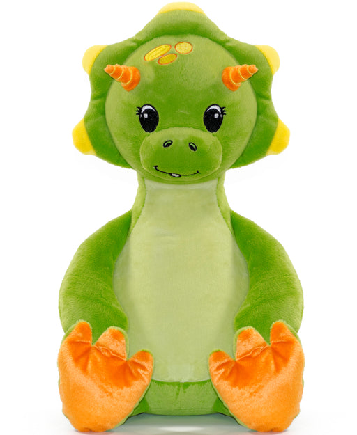 Cubbies Embroidery Blank - Green Dinosaur