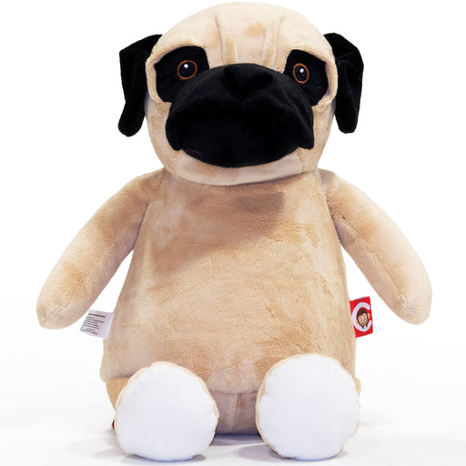 Cubbies Fo' Shizzle Pug Embroidery Blank