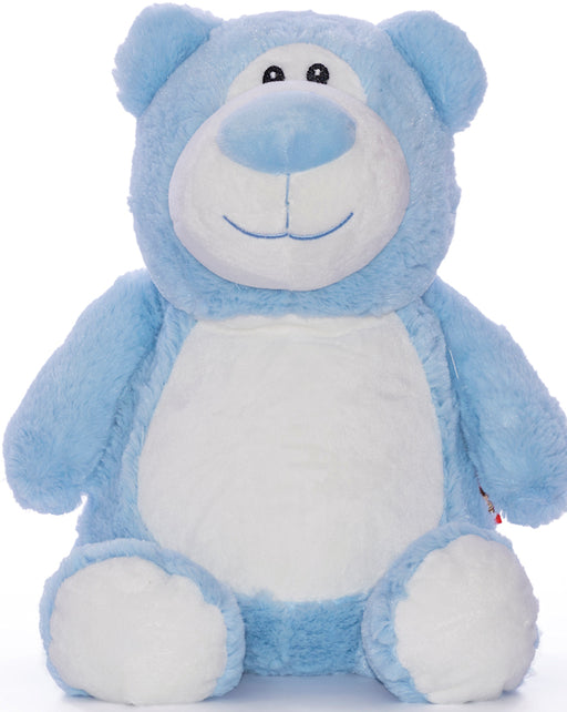 Cubbies Embroidery Blank - Cubbyford Teddy Bear - Light Blue