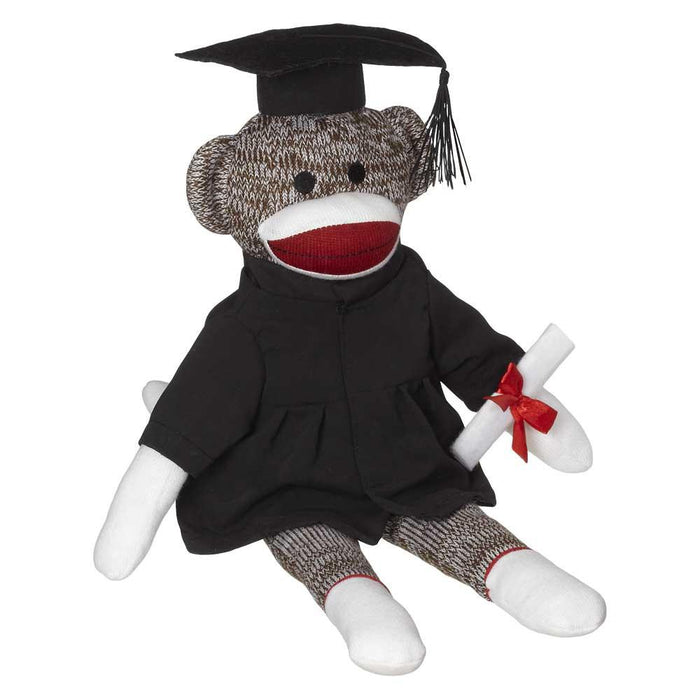 "Plush Bear Graduation Gown For 8"" to 10"" Bears"