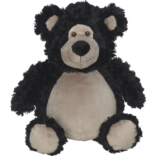 EB Embroider Buddy: Bobby Bear Black