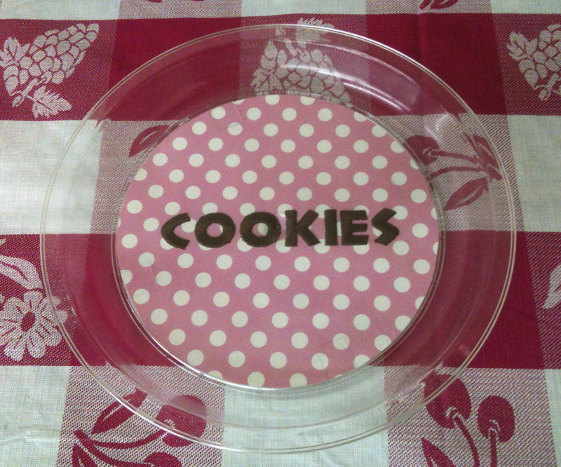 Create Your Own Cookie/Dessert Plate