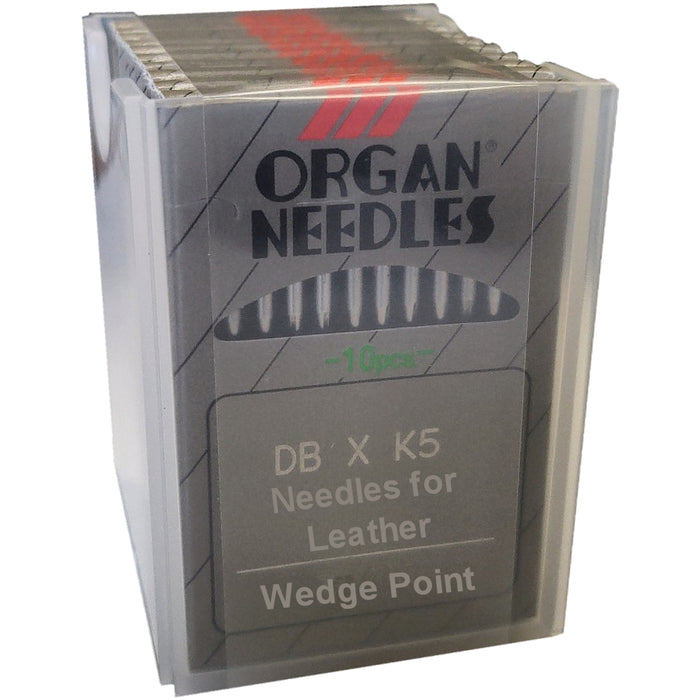 BxK5 SS Organ Commercial Embroidery Machine Needles for Leather/Vinyl