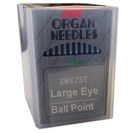 DBx7 ST Organ Commercial Embroidery Large Eye Metallic Needles