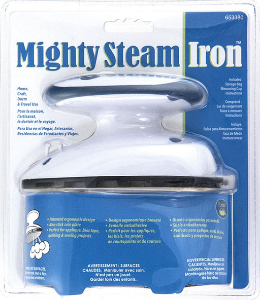 The Mighty Travel Steam Iron by Dritz - 072879270235