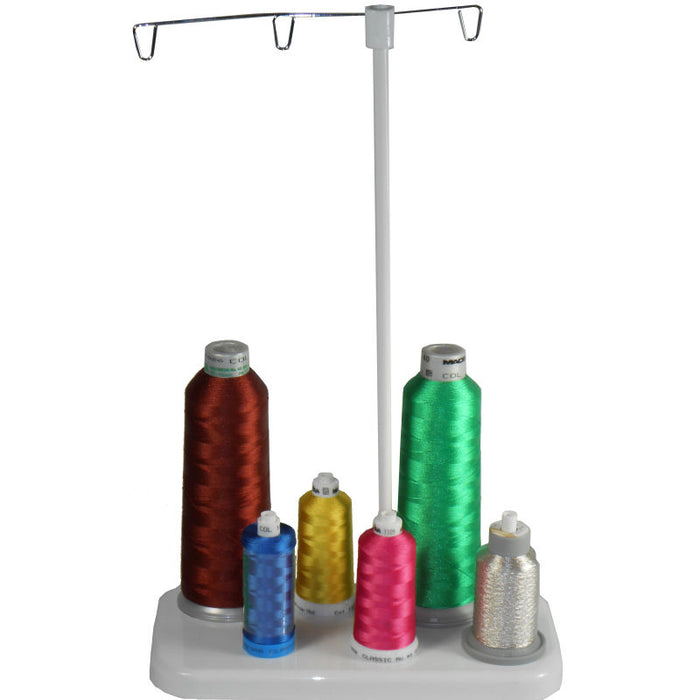 6 Cone Thread Stand For Embroidery & Sewing Machines
