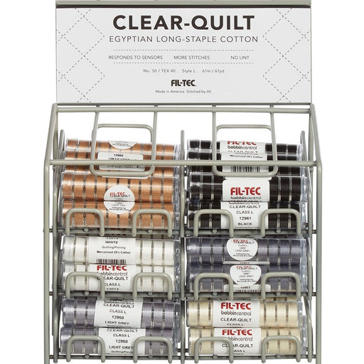 Fil-Tec Clear-Quilt Cotton Quilting Embroidery Bobbins