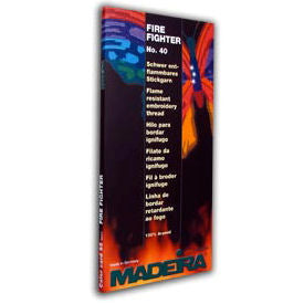 Madeira Embroidery Thread - Fire Fighter Flame Resistant Color Card