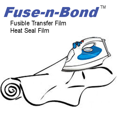 Fuse-n-Bond™ Applique & Patch Backing - Heat n Seal Film