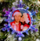 led Light Up Snowflake Photo Insert Ornament