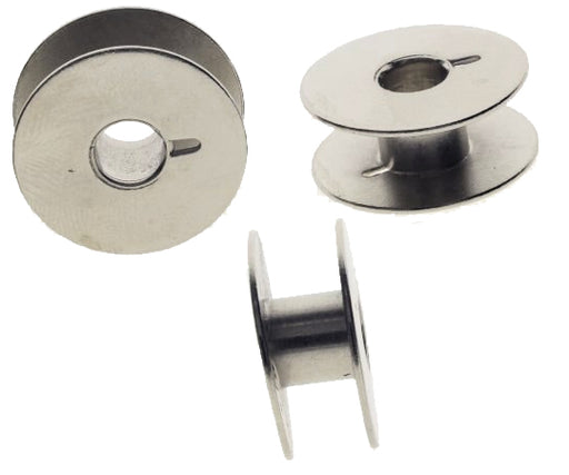 Empty Metal Steel Bobbin Spool - Style L