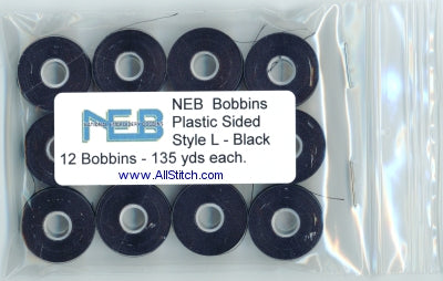 NEB Machine Embroidery Bobbins Style L