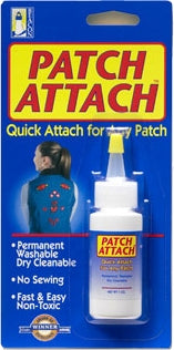 Patch Attach Adhesive Glue - 1 oz Bottle