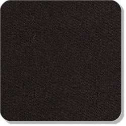 "15"" x 15"" Blank Patch Material For Embroidery - Black"