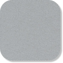 "15"" x 15"" Blank Patch Material For Embroidery - Silver Grey"
