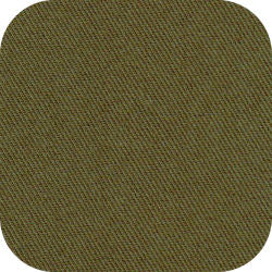 "15"" x 15"" Blank Patch Material For Embroidery - Olive"