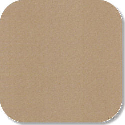"15"" x 15"" Blank Patch Material For Embroidery - Tan"
