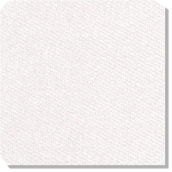 "15"" x 15"" Blank Patch Fabric For Embroidery - White"