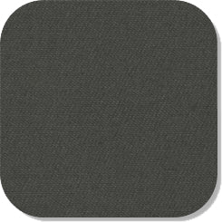 "15"" x 15"" Blank Patch Material For Embroidery - Charcoal Grey"