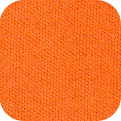 "15"" x 15"" Blank Patch Material For Embroidery - Orange"