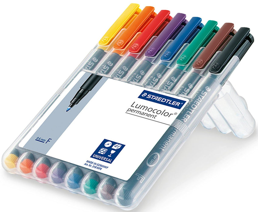 Staedtler Lumocolor Fine Point Embroidery Touch Up Pens