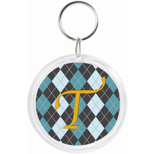 Embroidery Paper Blank: Key Chain - Round