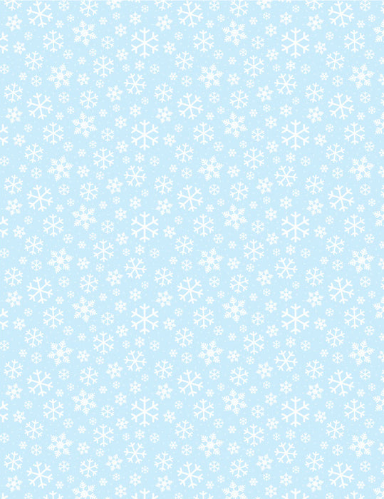 Quick Stitch Embroidery Paper: Snowflakes