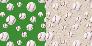 Quick Stitch Embroidery Paper: Sports - Baseball